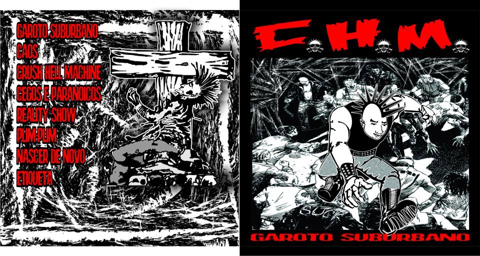Crush Hell Machine - Garoto Suburbano